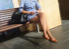 Bare Candid Legs - BCL#065