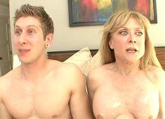Mom Catches not Virgin Son Masturbating--daddi