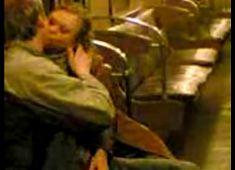 Blowjob in train