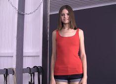 Hot skinny girl ANNA